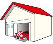 車庫・ベランダ