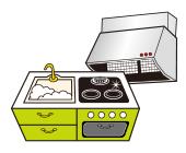キッチン・換気扇セット
